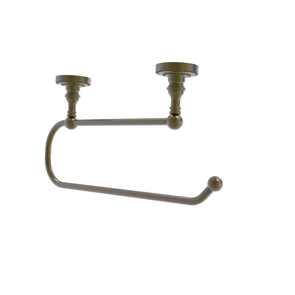 Allied Brass Dottingham Collection Under Cabinet Paper Towel Holder