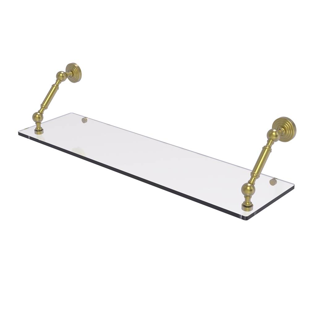 Allied Brass Waverly Place Collection 30 Inch Floating Glass Shelf