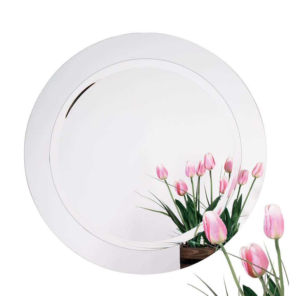 Alno Round Mirror On Mirror