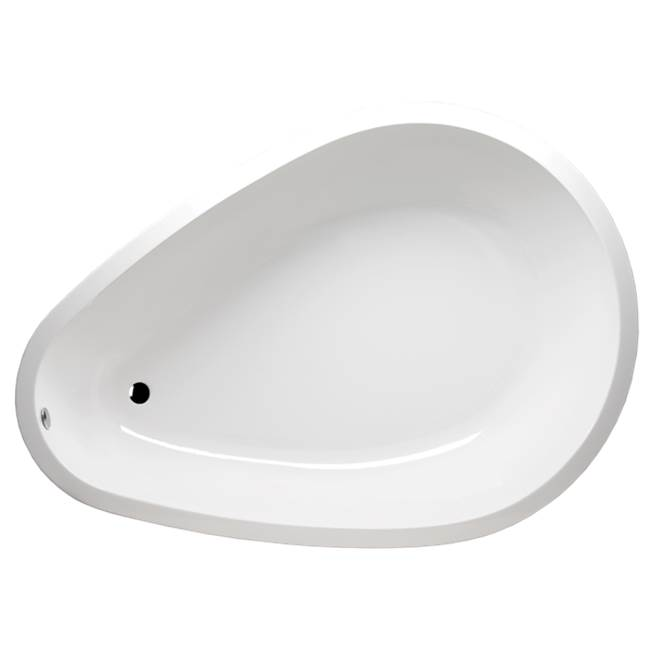 Americh Tear Drop 9568 - Tub Only, Biscuit