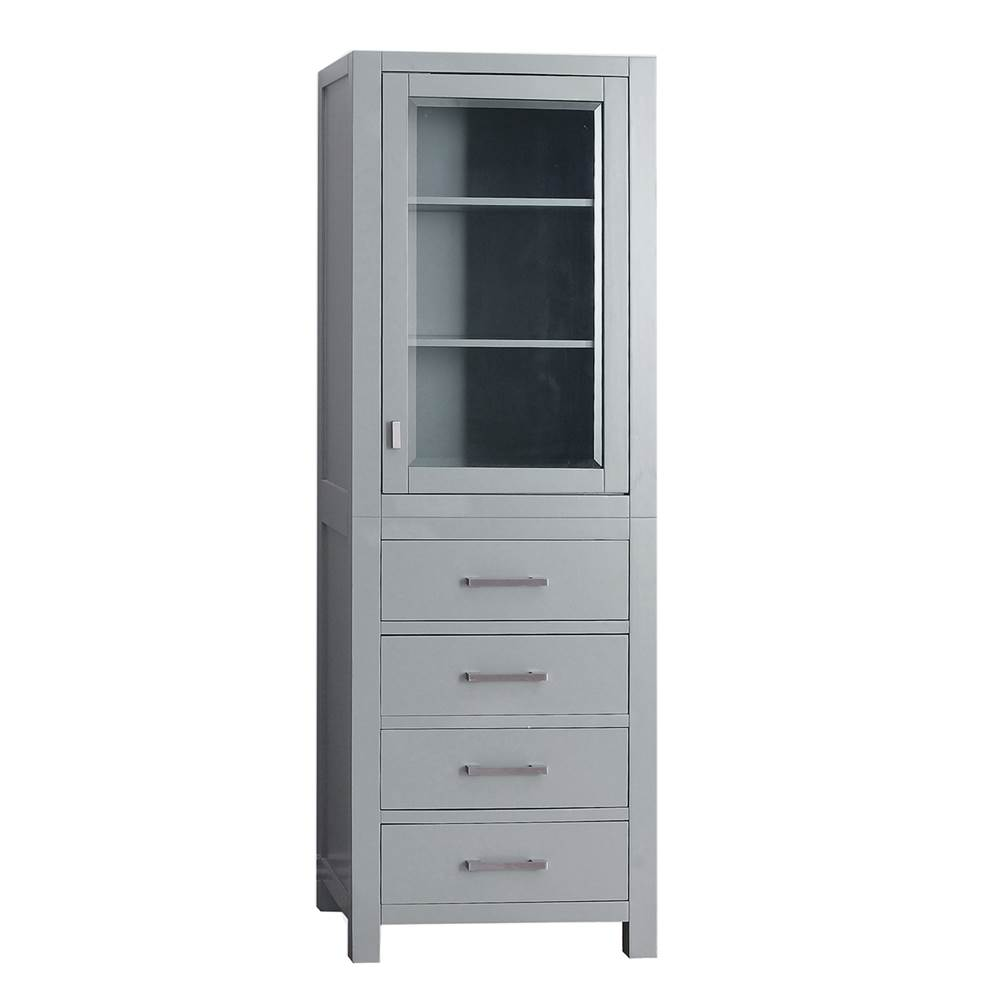 Avanity Avanity Modero 24 in. Linen Tower in Chilled Gray finish