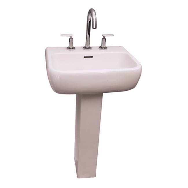 Barclay Metropolitan 420 Basin 1 hole - White