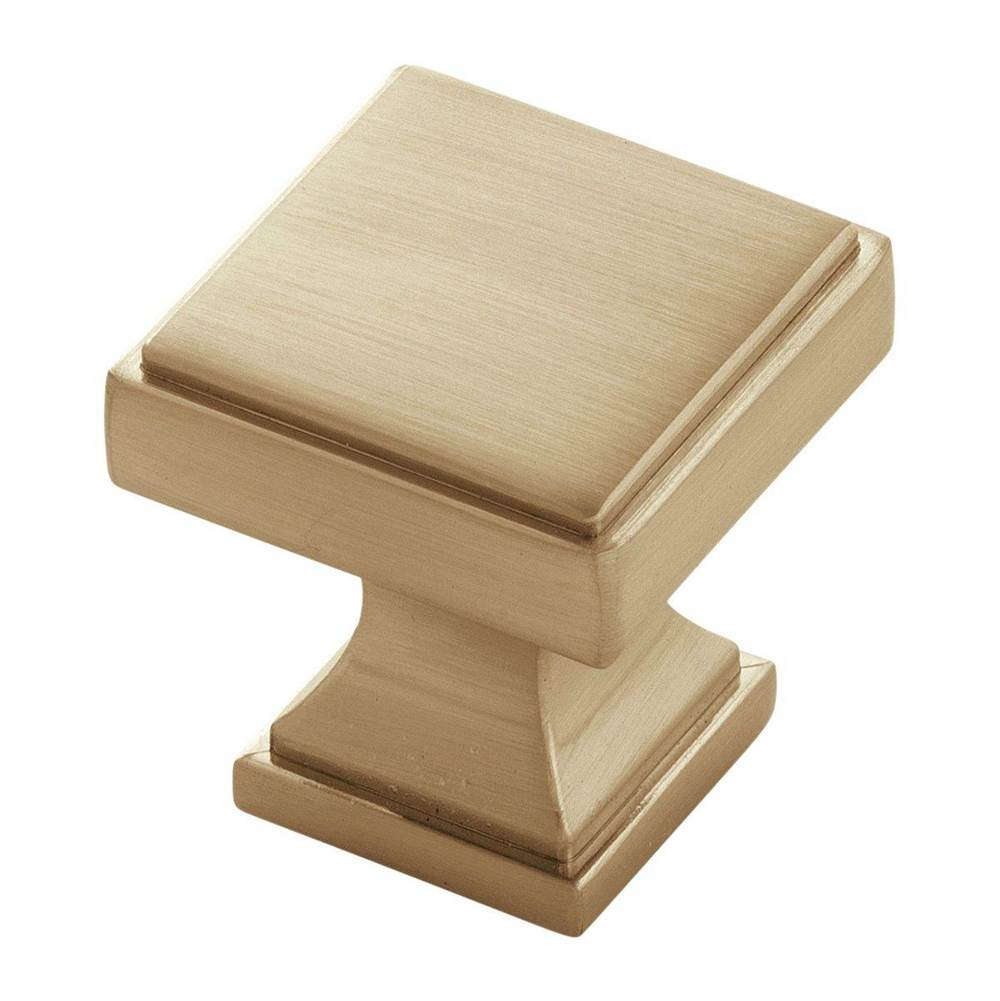 Belwith Keeler Knob 1-1/8 Inch Square