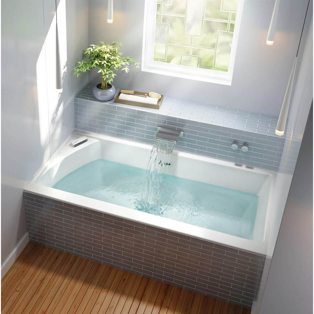 Bain Ultra CITTI TRIO 6032 LEFT INSERT TUB SLIM DECK BISCUIT