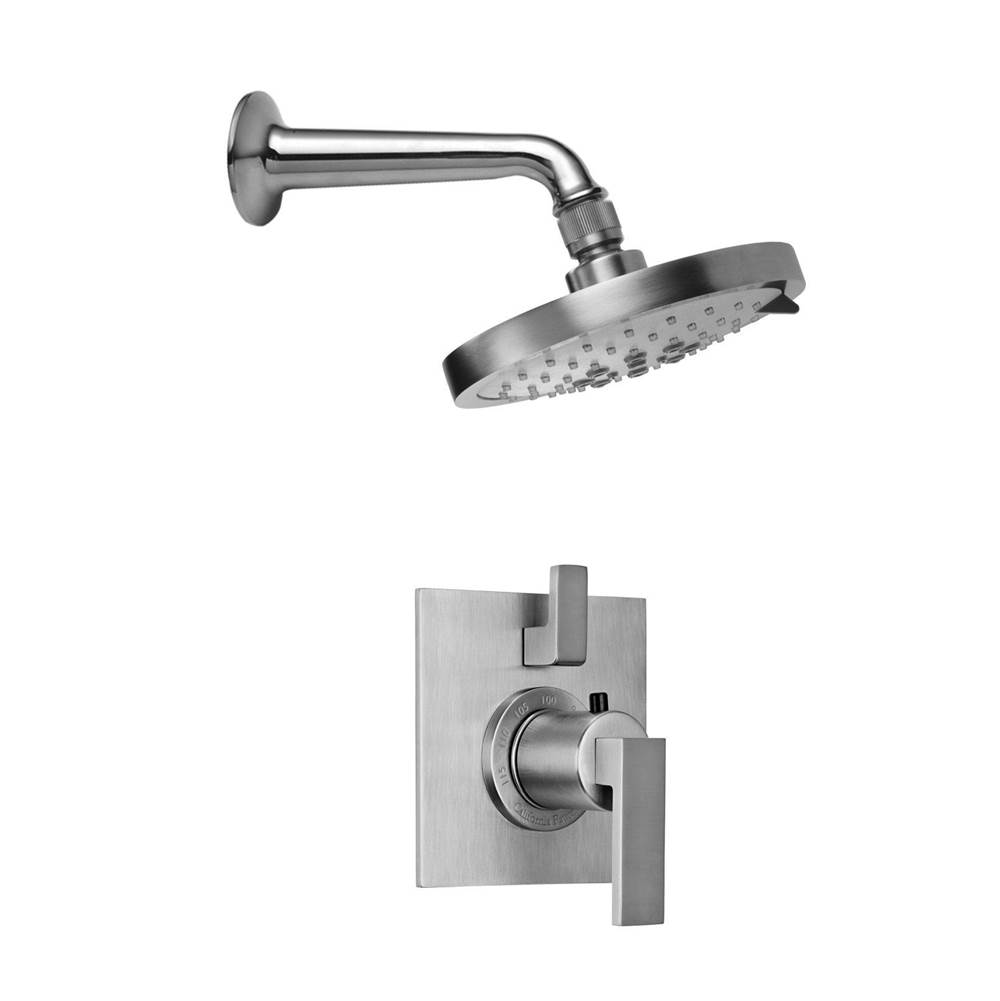 California Faucets Morro Bay Styletherm 1/2'' Thermostatic Shower System with Single Showerhead