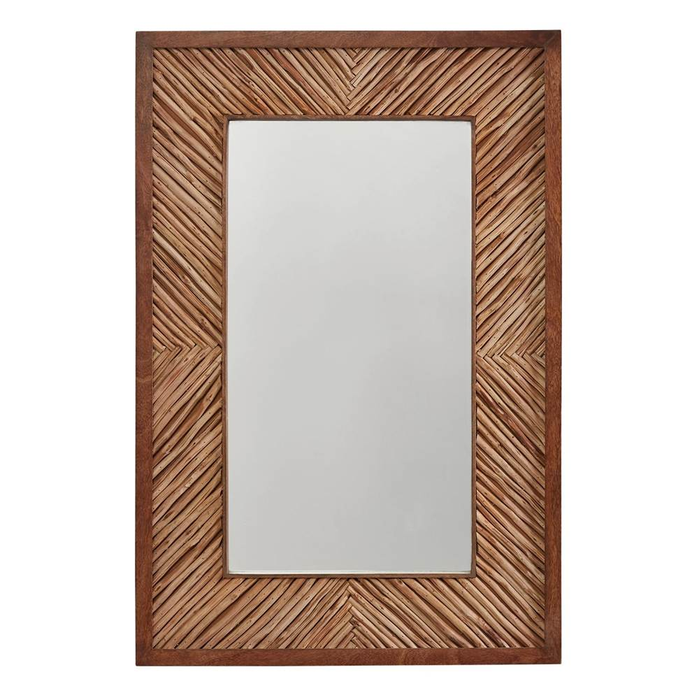 Capital Lighting Wood Framed Mirror