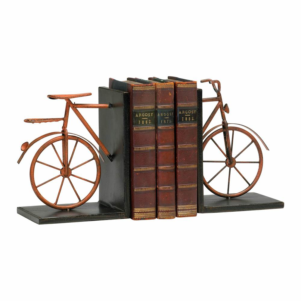 Cyan Designs Bicycle Bookends