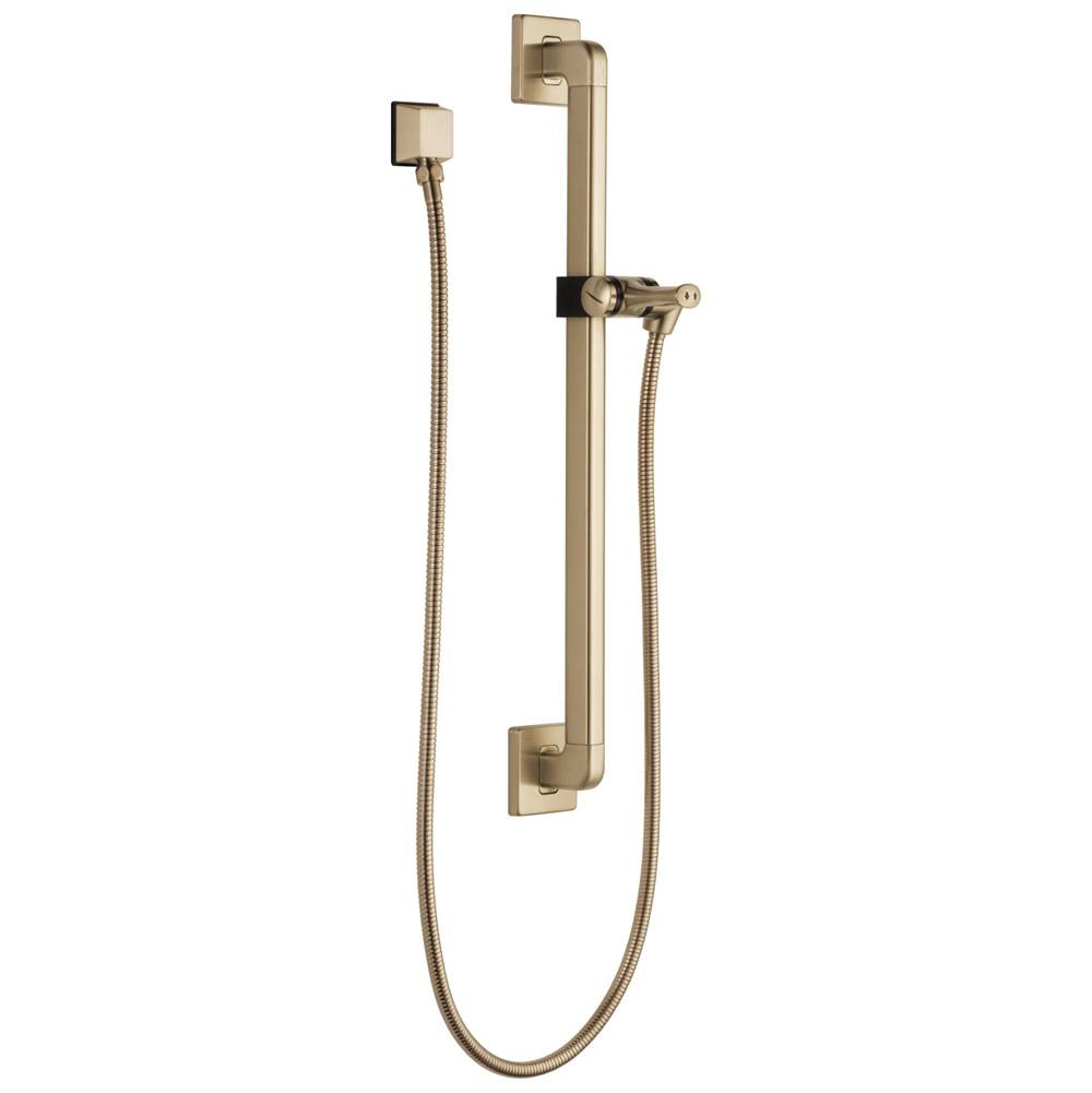 Delta Faucet Universal Showering Components: Adjustable Slide Bar / Grab Bar Assembly with Elbow