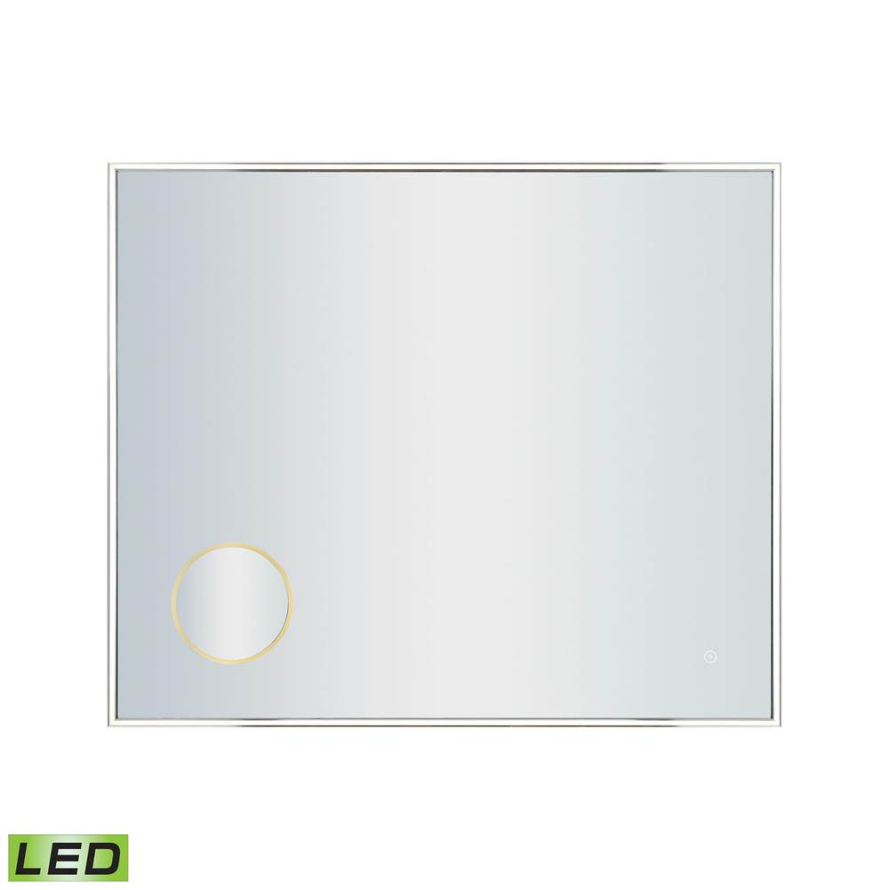 Elk Lighting 36x30-inch LED Mirror with 3x Magnifier