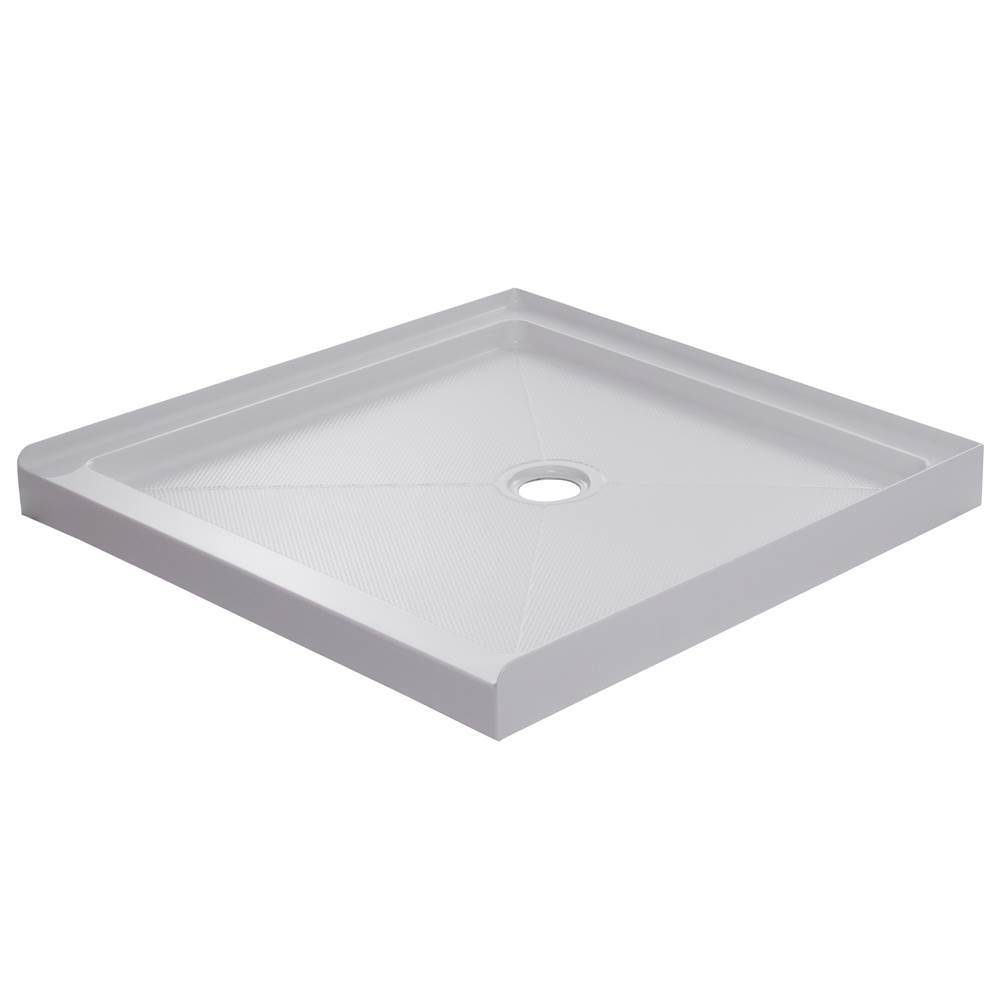 Foremost 36'' X 36'' White Base with Center Drain