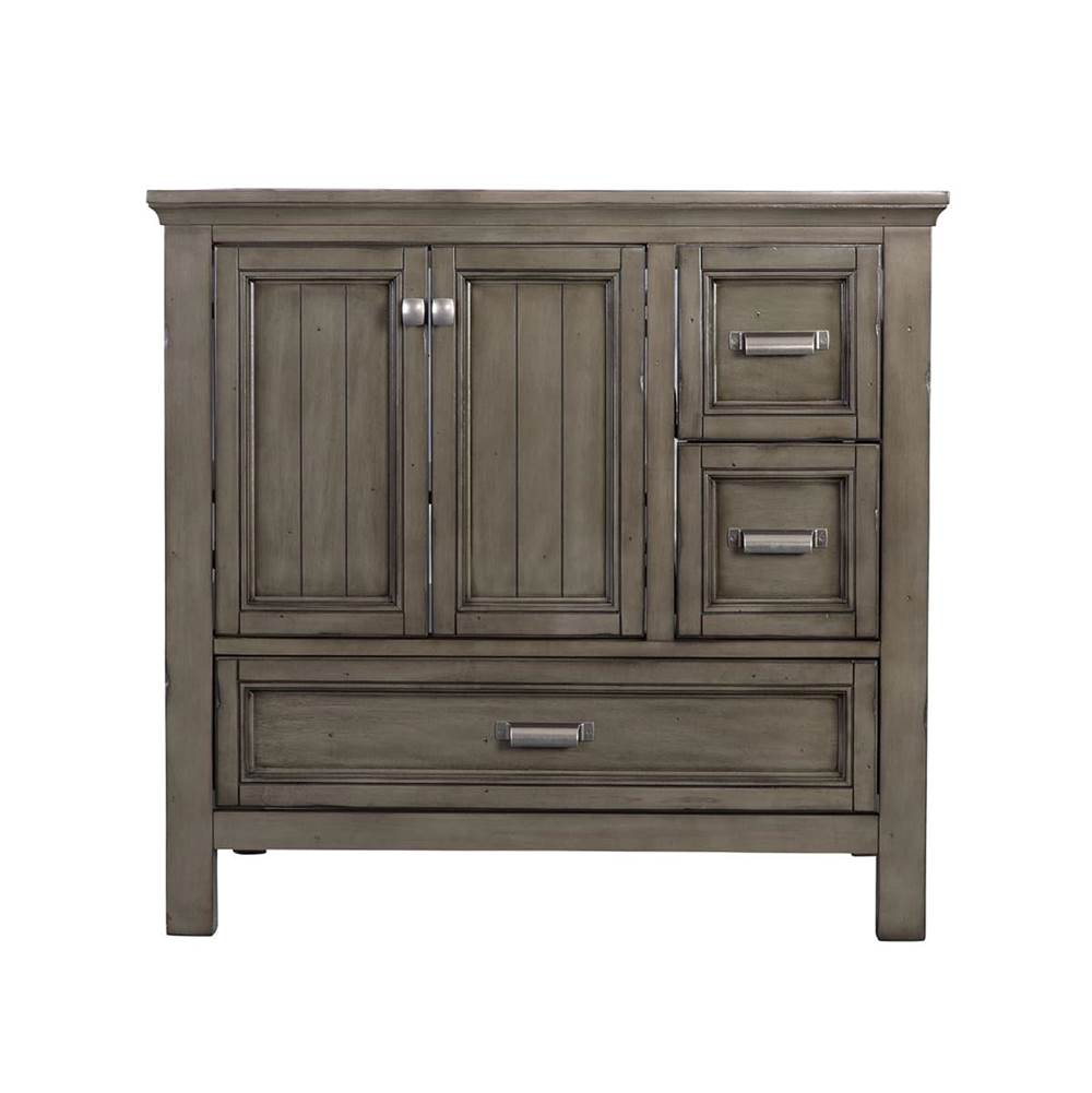 Foremost Brantley 36'' Vanity Distressed Grey