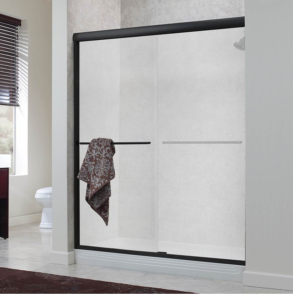 Foremost Cove 1/4'' Frameless By-Pass Sliding Shower Door