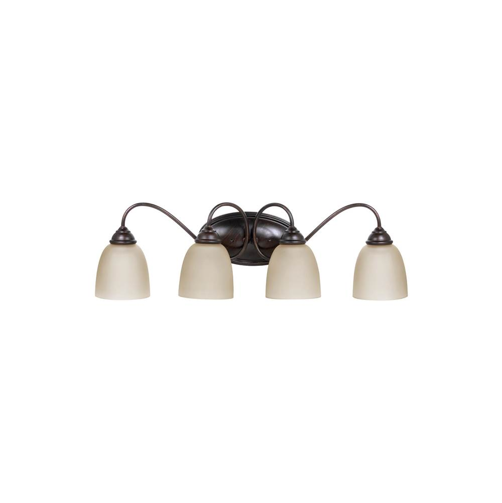 Generation Lighting Lemont Four Light Wall / Bath
