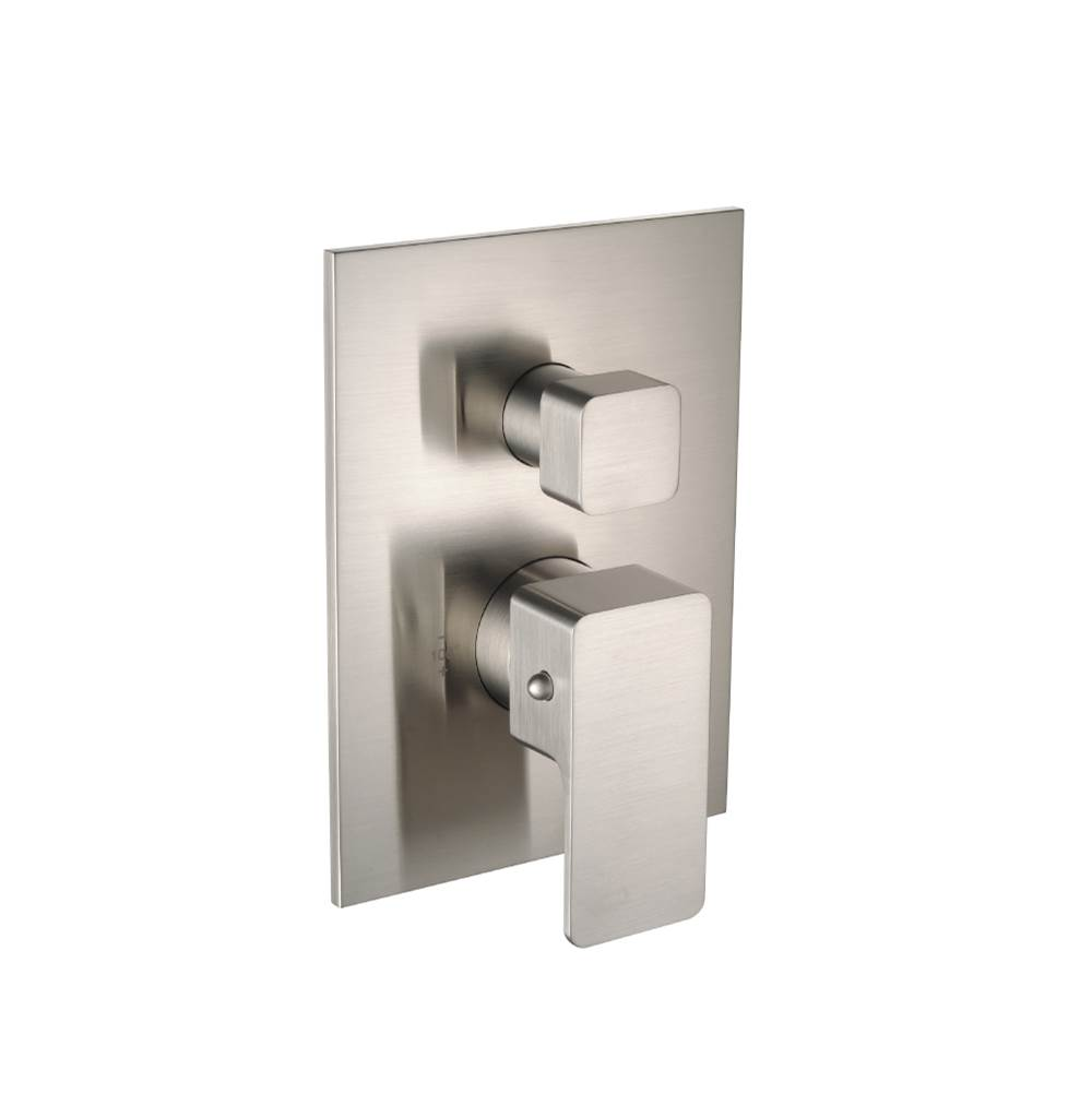 Isenberg Trim For 3/4'' Thermostatic Valve With 2-Way Diverter And Integrated Volume Control - Use With TVL.2700 Valve