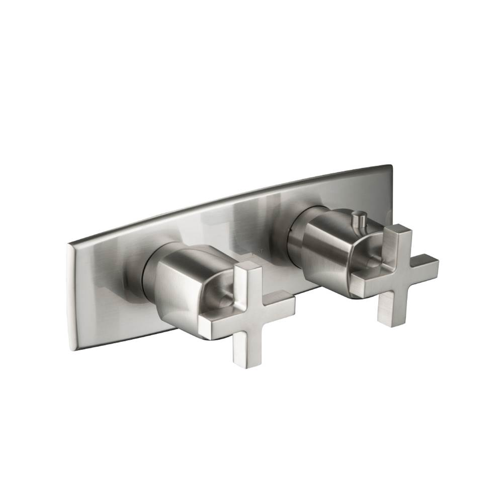 Isenberg 3/4'' Horizontal Thermostatic Shower Valve With Volume Control And Trim