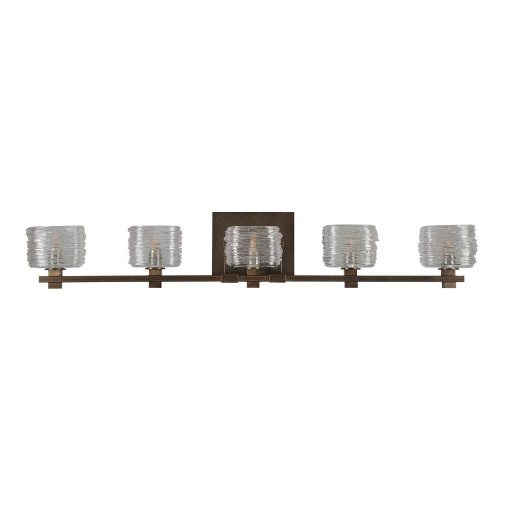 Kalco Lighting Clearwater 5 Light Bath