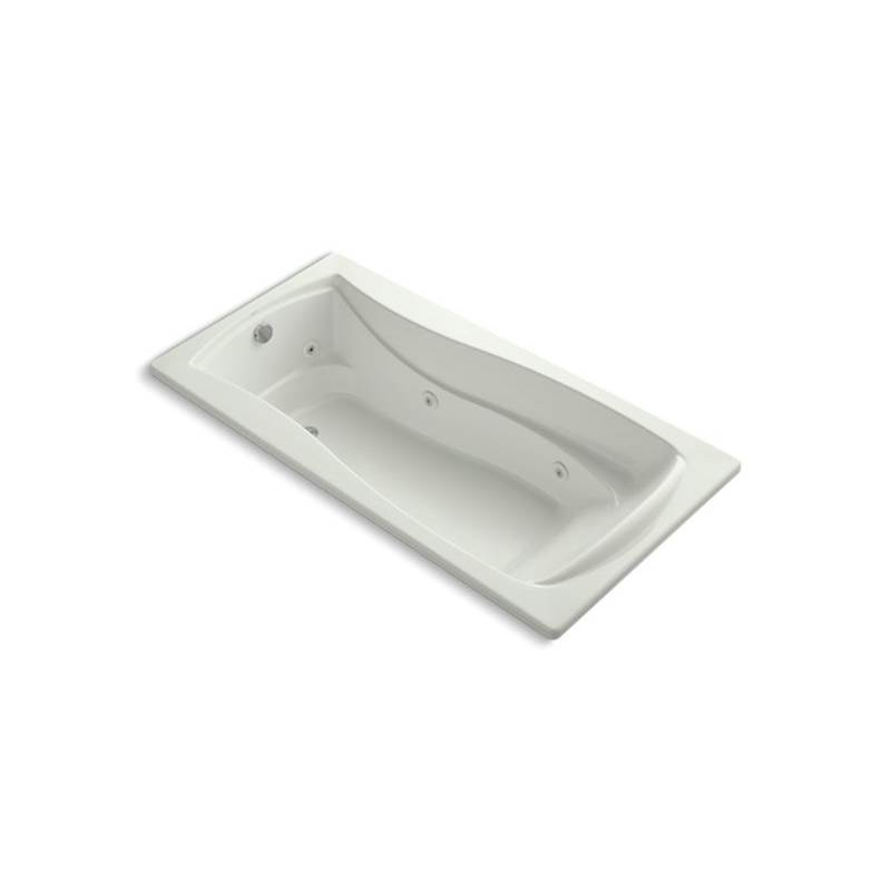 Kohler Mariposa® 72'' x 36'' drop-in whirlpool bath with end drain, custom pump location and heater