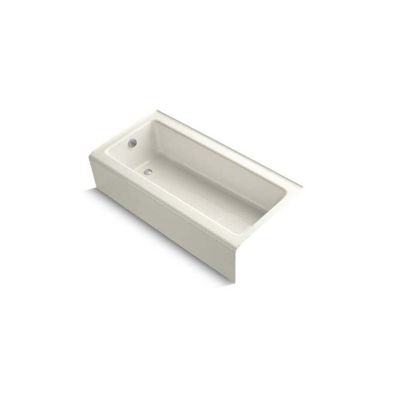 Kohler Bellwether® 60'' x 30-1/4'' alcove bath with integral apron and left-hand drain