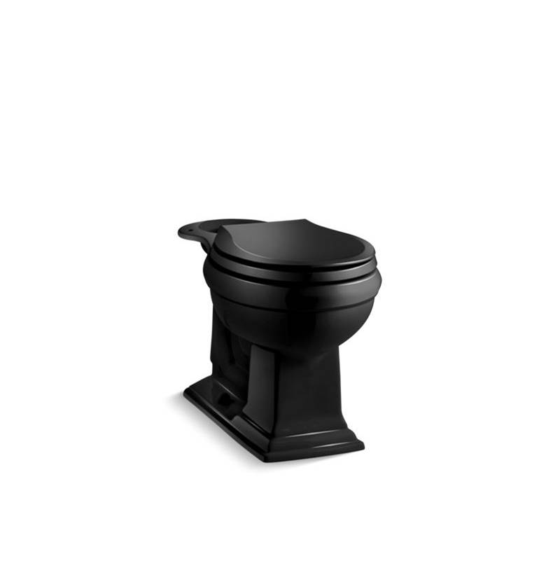 Kohler Memoirs® Comfort Height® Round-front chair height toilet bowl