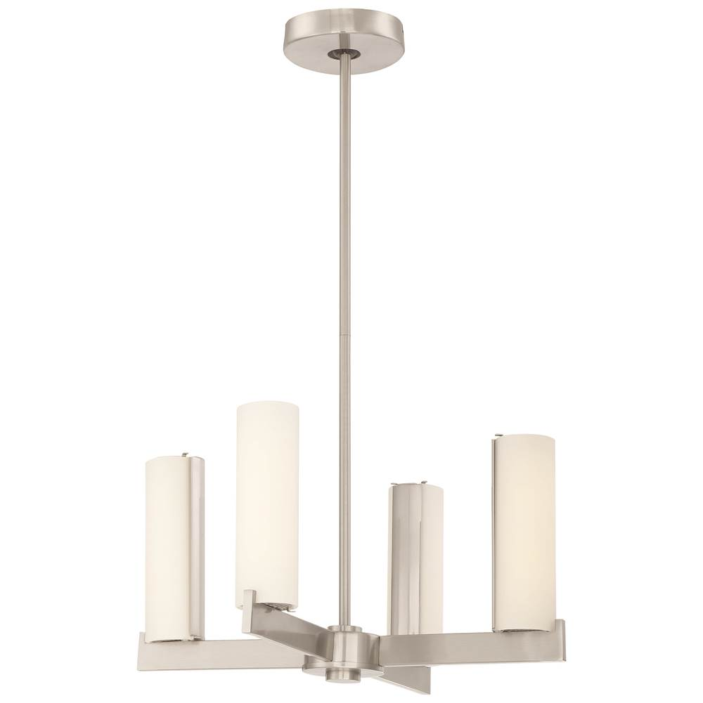 George Kovacs Chandelier (Convertible To Semi Flush)