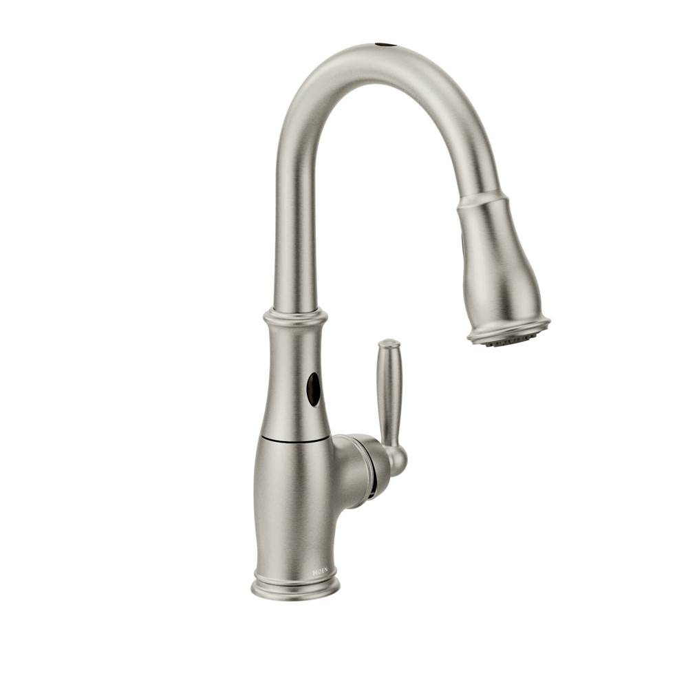 Moen Spot resist stainless one-handle pulldown kitchen faucet