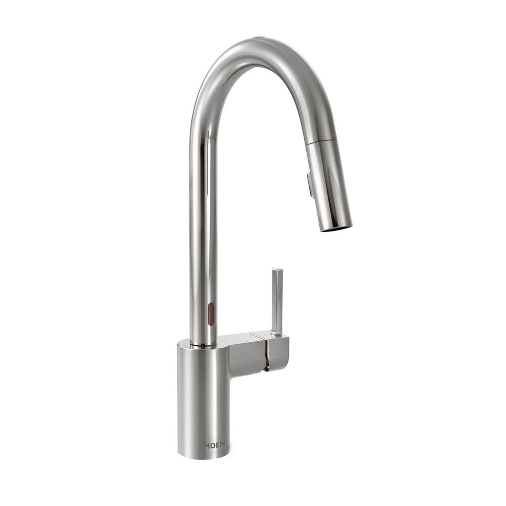 Moen Chrome one-handle pulldown kitchen faucet