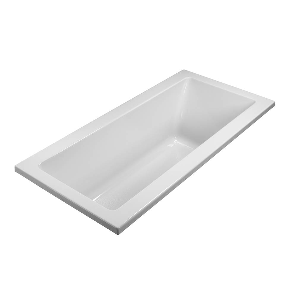 MTI Basics 66X36,Basics,Soaking,Rectangular Tub,White, Undermount
