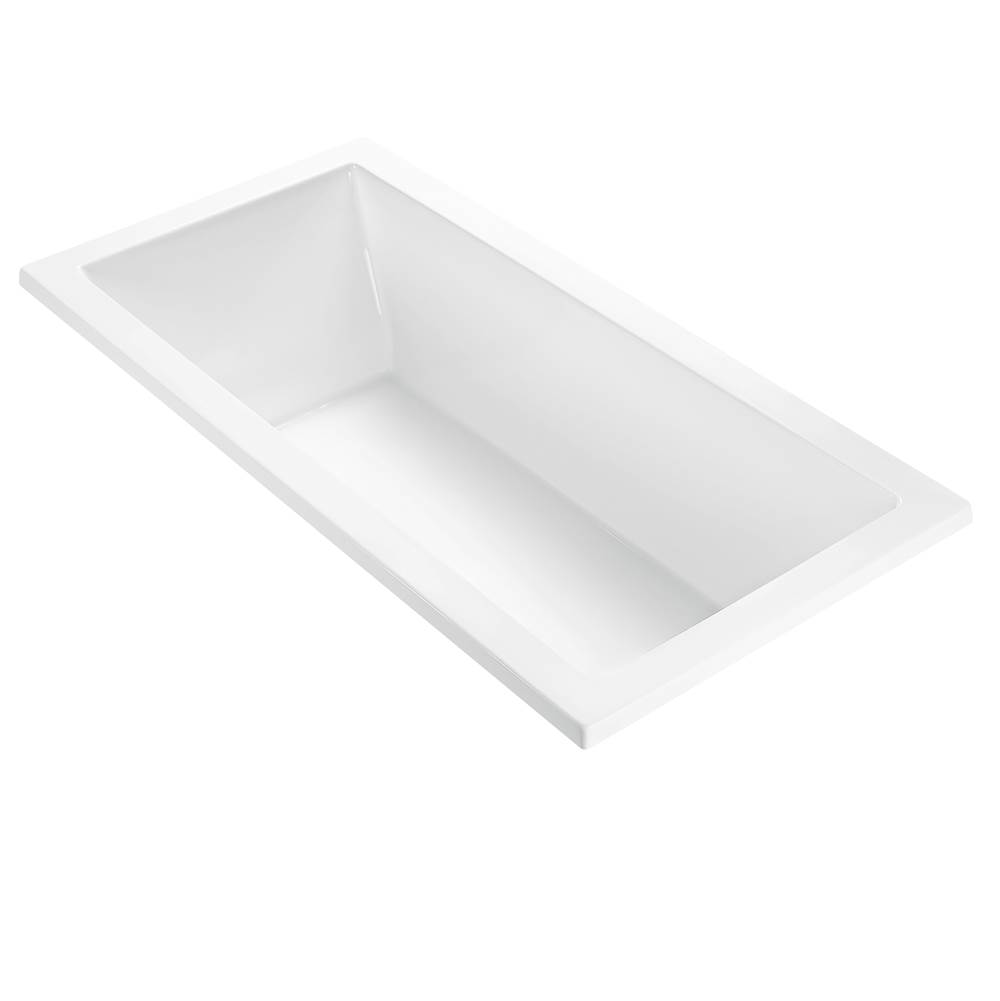 MTI Baths 72X36 WHITE UNDERMOUNT AIR ULTRA WHIRLPOOL COMBO ANDREA 3