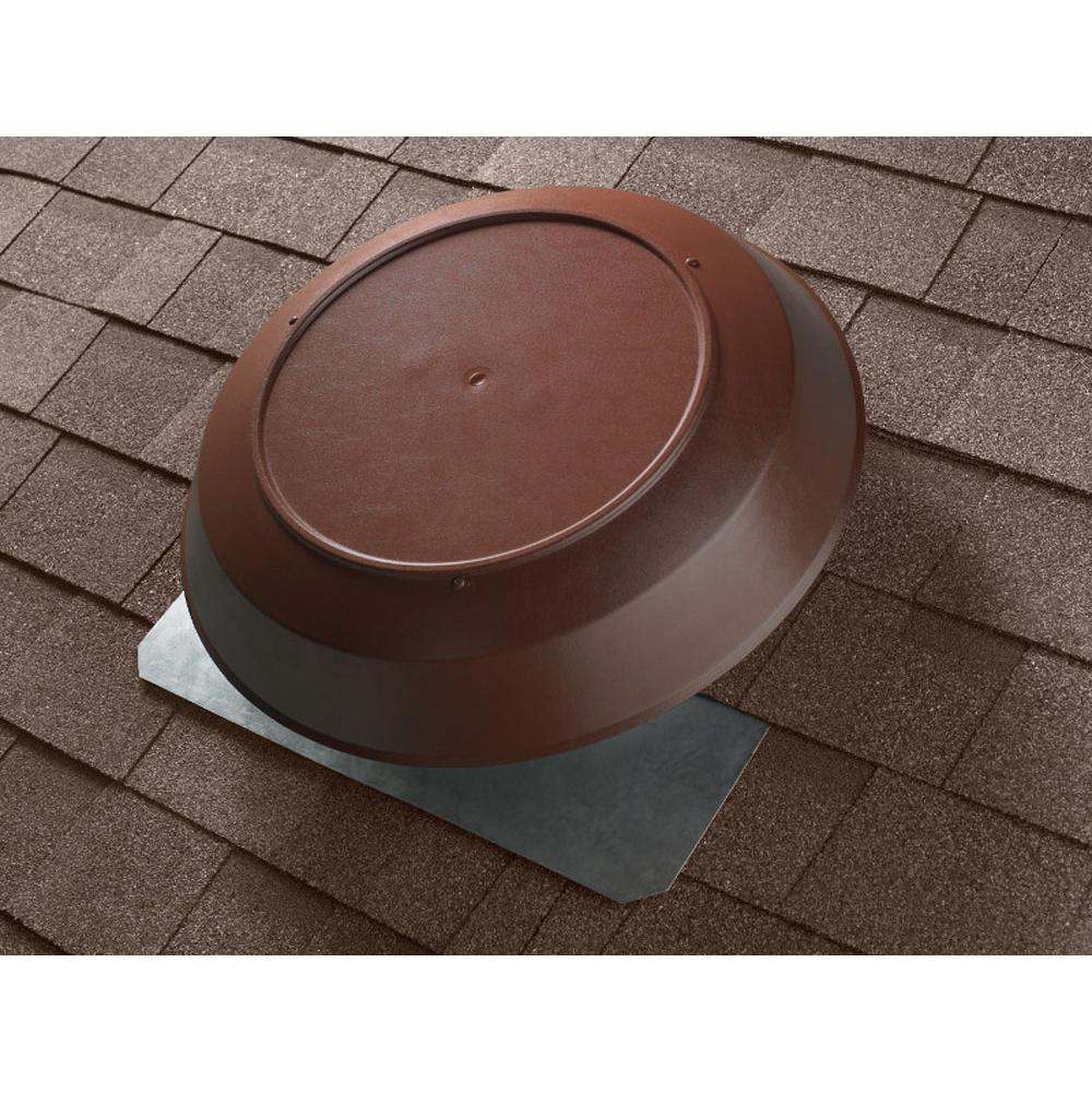 Broan Nutone 1050 CFM Attic Ventilator with brown PVC dome