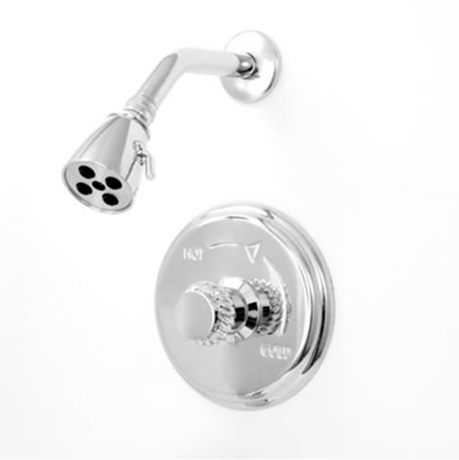 Sigma Pressure Balanced Shower W/ Seville (Requires Ring Selection) - Trim Only