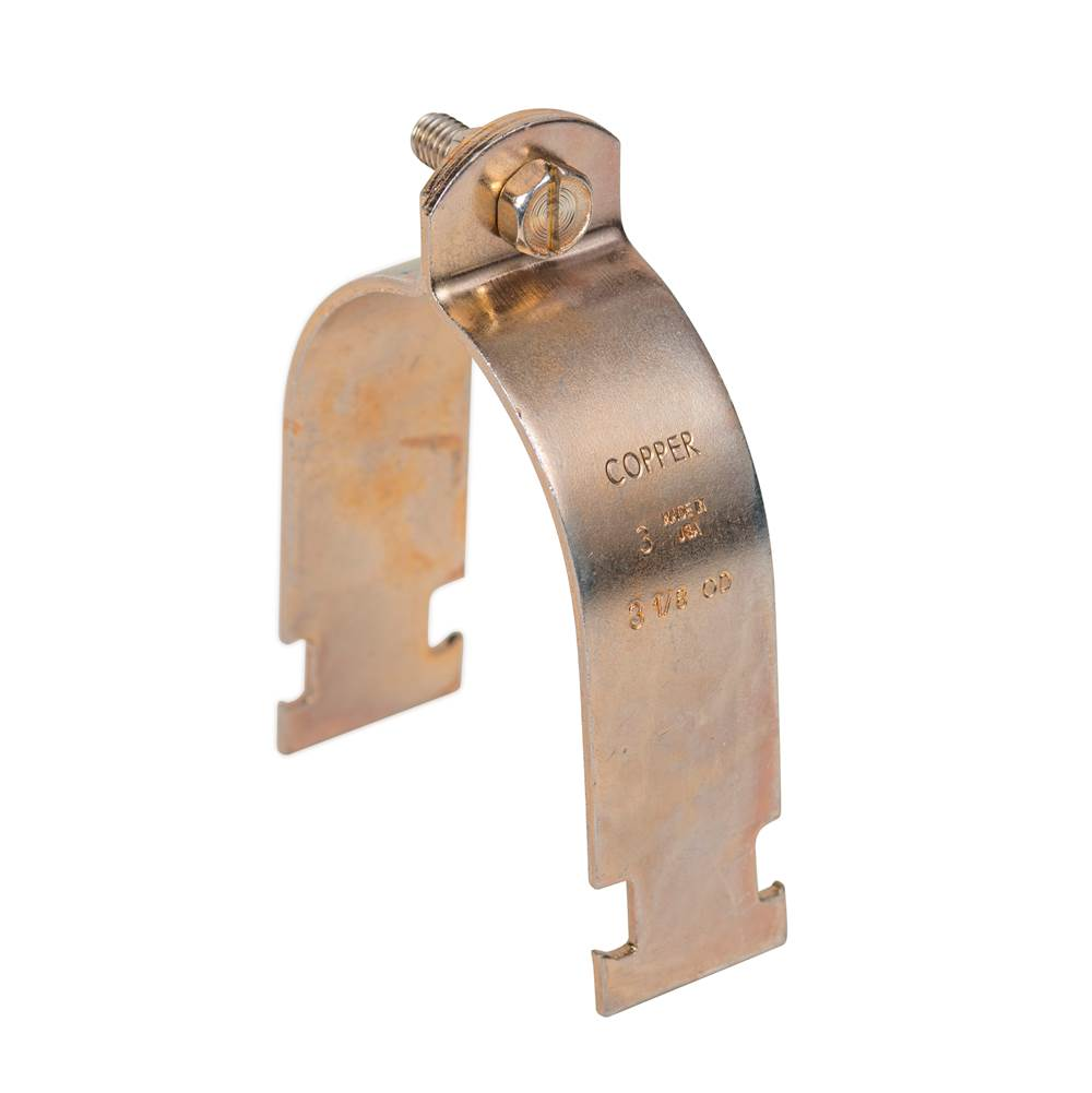 Sioux Chief 1/2 CTS STRUT CLAMP - COPPER ZINC DICHROMATE
