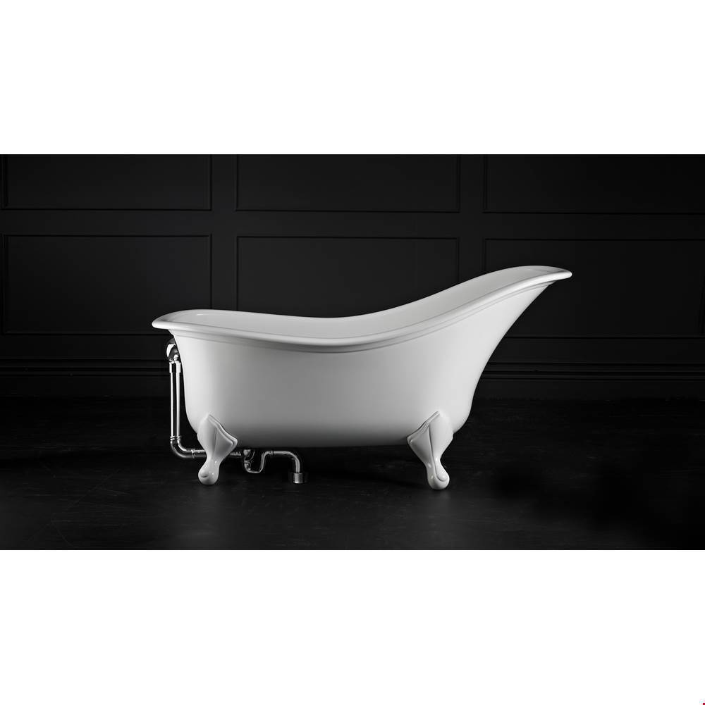 Victoria + Albert Drayton 67'' x 33'' Freestanding Slipper Bathtub