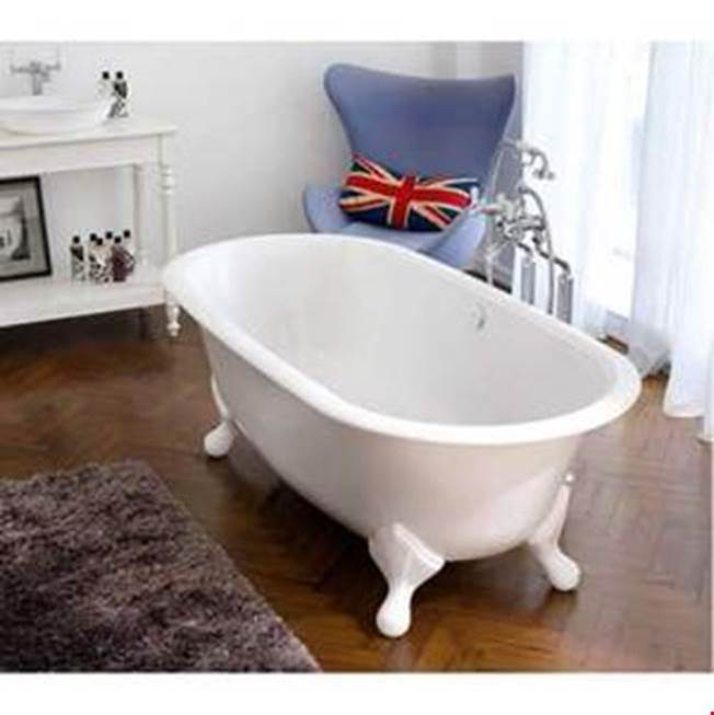 Victoria + Albert Radford 75'' x 36'' Freestanding Soaking Clawfoot Bathtub
